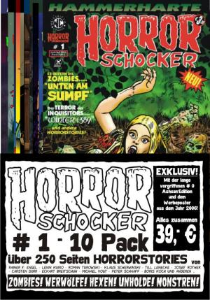 HORRORSCHOCKER # 1-10 - Pack im Shop!