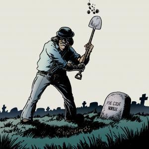 Der Verleger gräbt was aus...