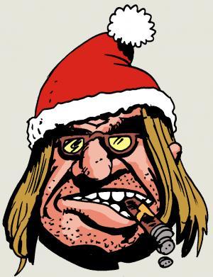 Der Verleger wünscht frohe Weihnachten!