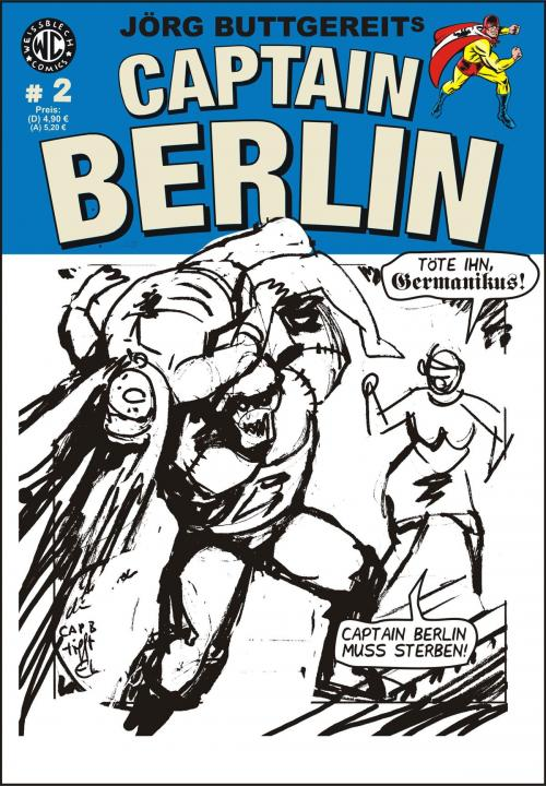 Skizze Cover CAPTAIN BERLIN # 2