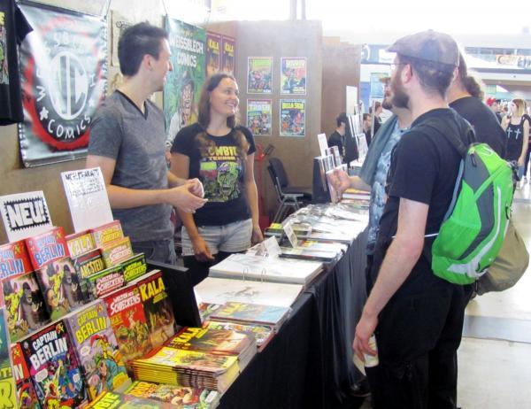 Auf der Comic Con 2016