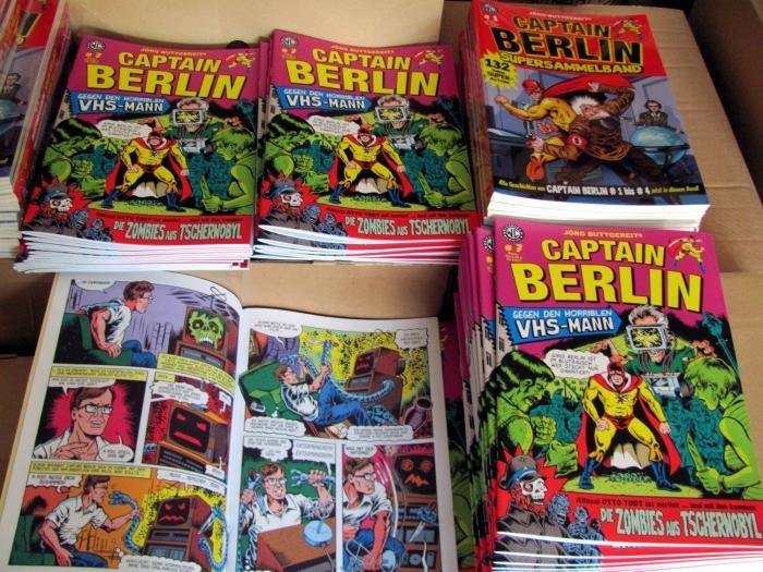 CAPTAIN BERLIN # 7 wurde angeliefert!
