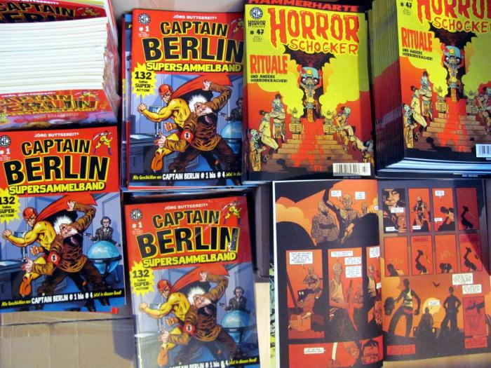 HORRORSCHOCKER #47 und CAPTAIN BERLIN Supersammelband # 1!