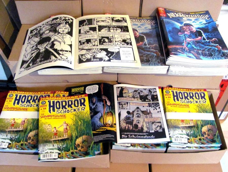 Horrorschocker # 44 und Nekromantik # 1 angeliefert!